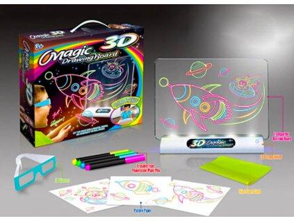 magická 3D tabule