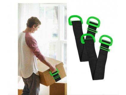 Stěhovací popruhy na krabice