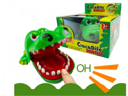 Kousavej krokodýl