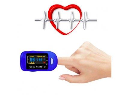Měření pulzu z prstu