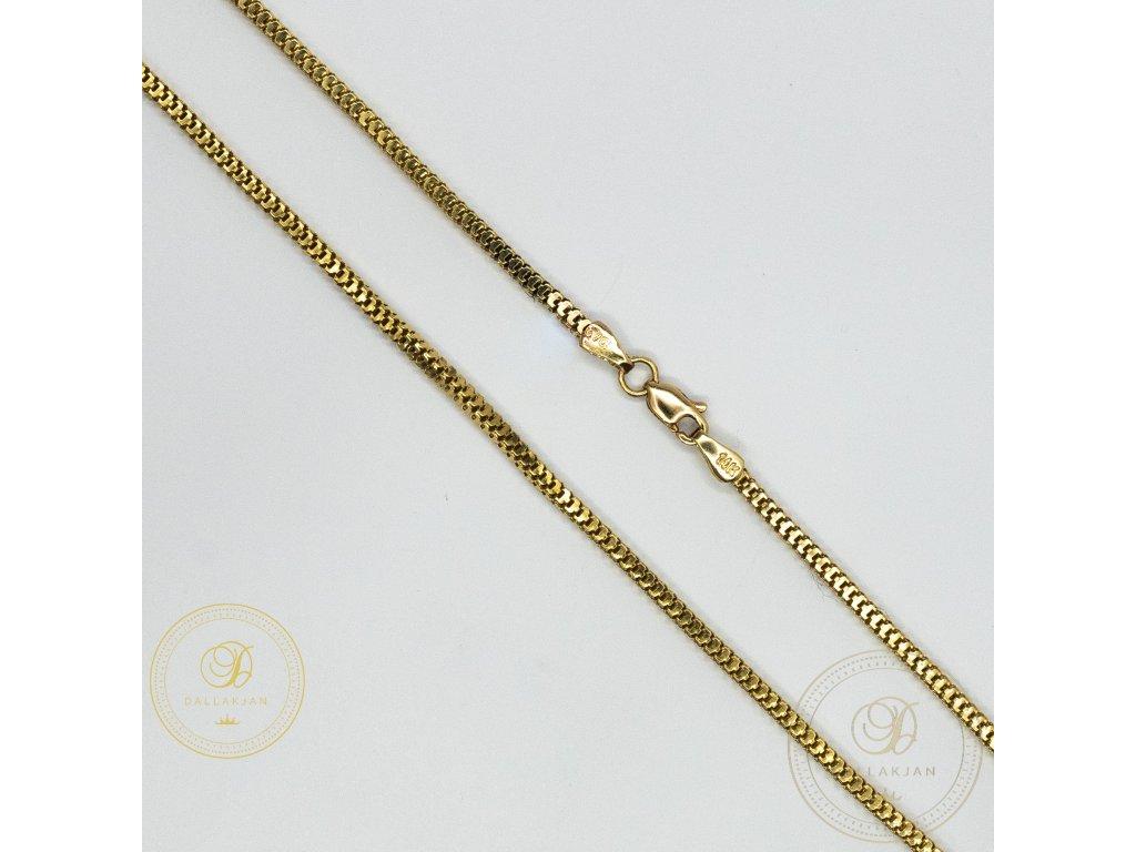 Zlatý řetez ze žlutého zlata (Délka 46)