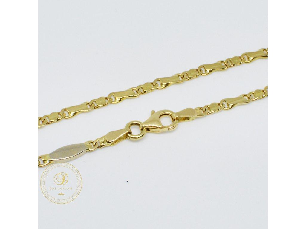 Řetěz ze žlutého zlata (Velikost v cm 50)