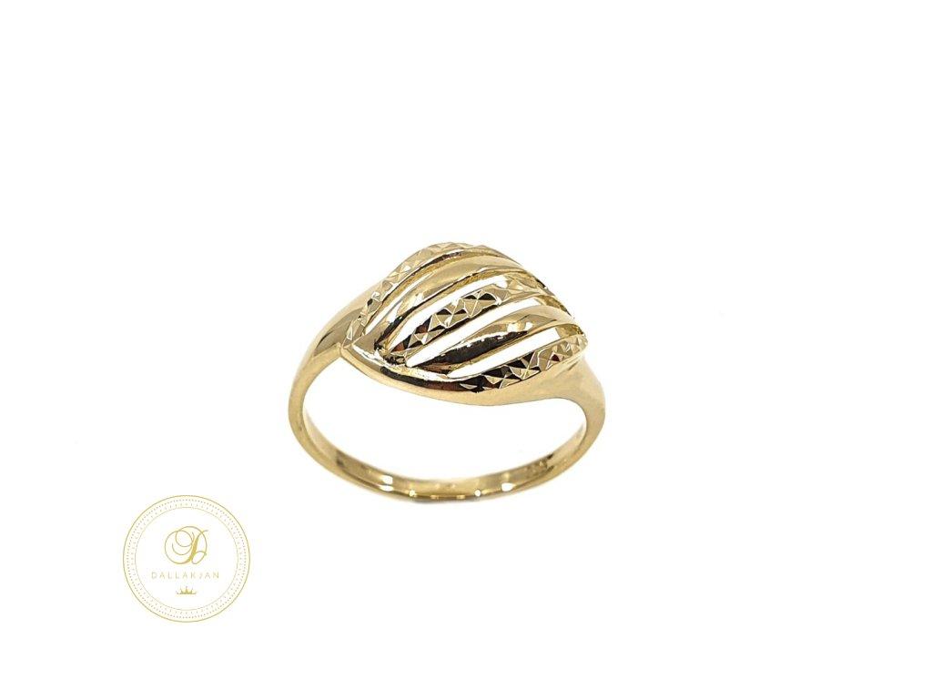 Prsten, žluté zlato
