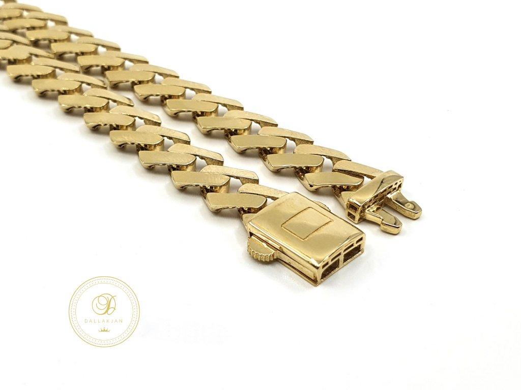 Náramek, žluté zlato