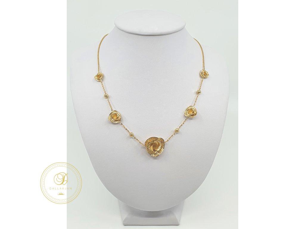 Řetízek, žluté zlato