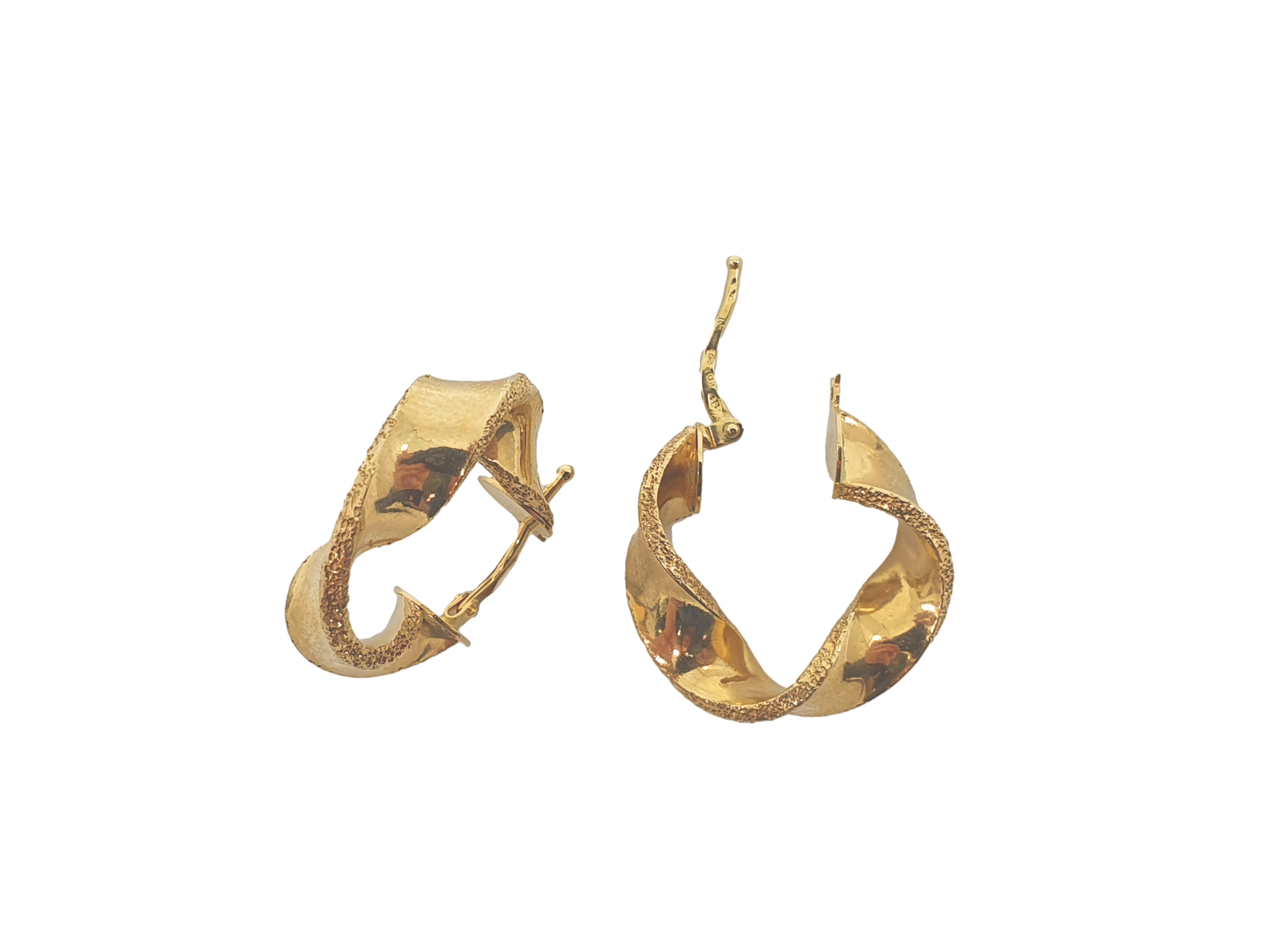Náušnice, žluté zlato Váha v g: 2.85, Ryzost: 585/1000