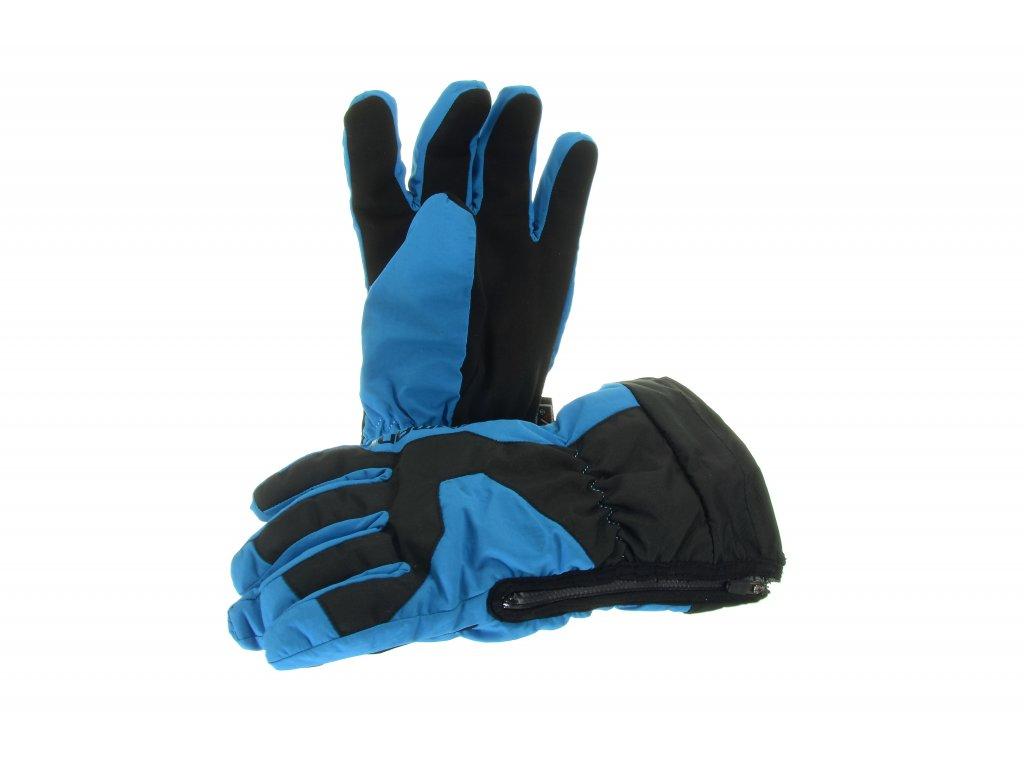 Dětské prstové rukavice Damani RC01 - reflexní modrá (Velikost 10Y)