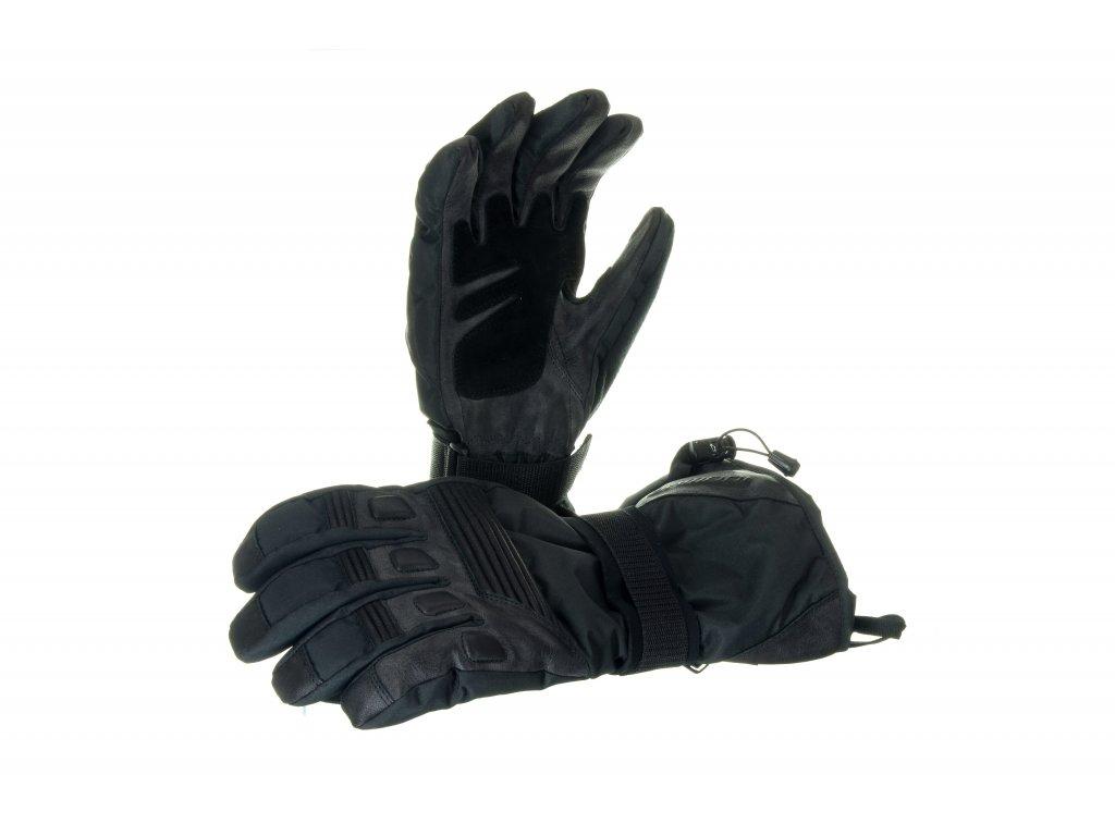 Snowboardové rukavice Damani R02 (unisex, černé) (Velikost L)