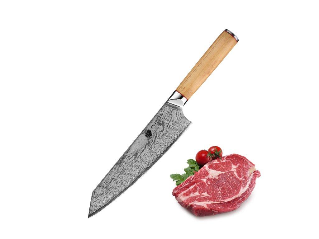 """Nůž pro šéfkuchaře SWITYF CHEF OK (8"""")"""