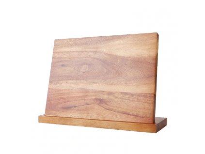 Magnetický stojan XITUO na 5 nožů z akáciového dřeva