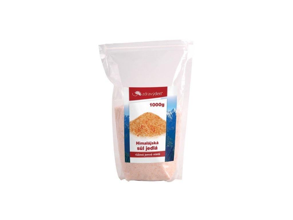 Sůl himalájská, soda