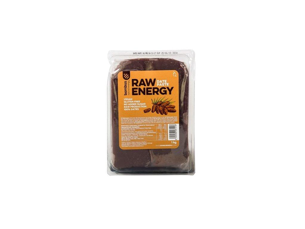 bombus raw energy datlova pasta