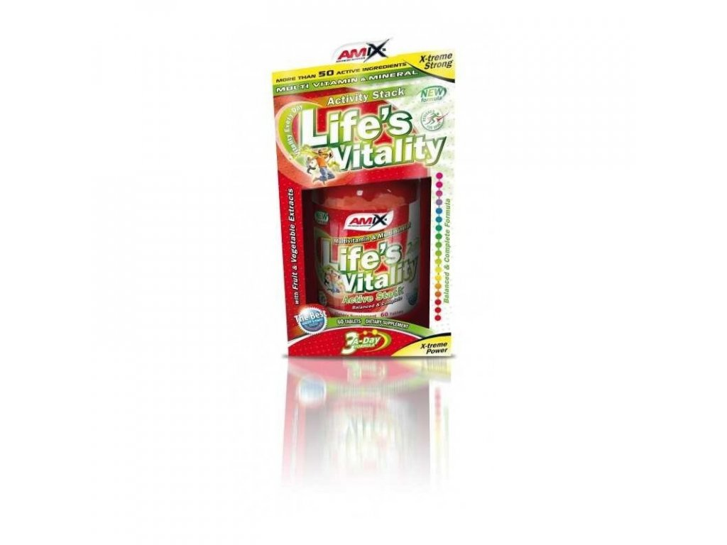 Amix Life's Vitality Active Stack 60 tablet
