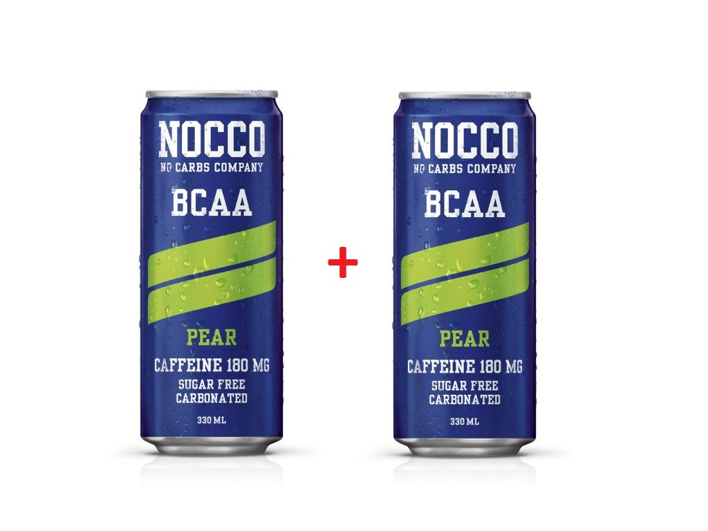 NOCCO ENERGY DRINK + BCAA