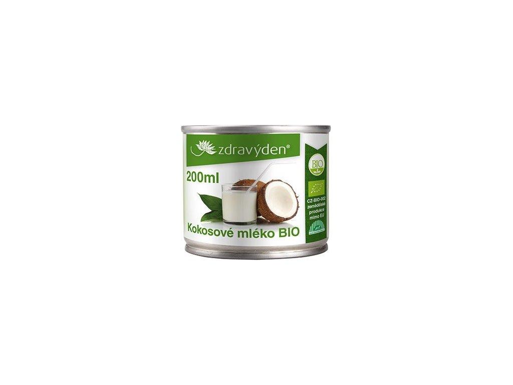 Zdravý den Kokosové mléko BIO