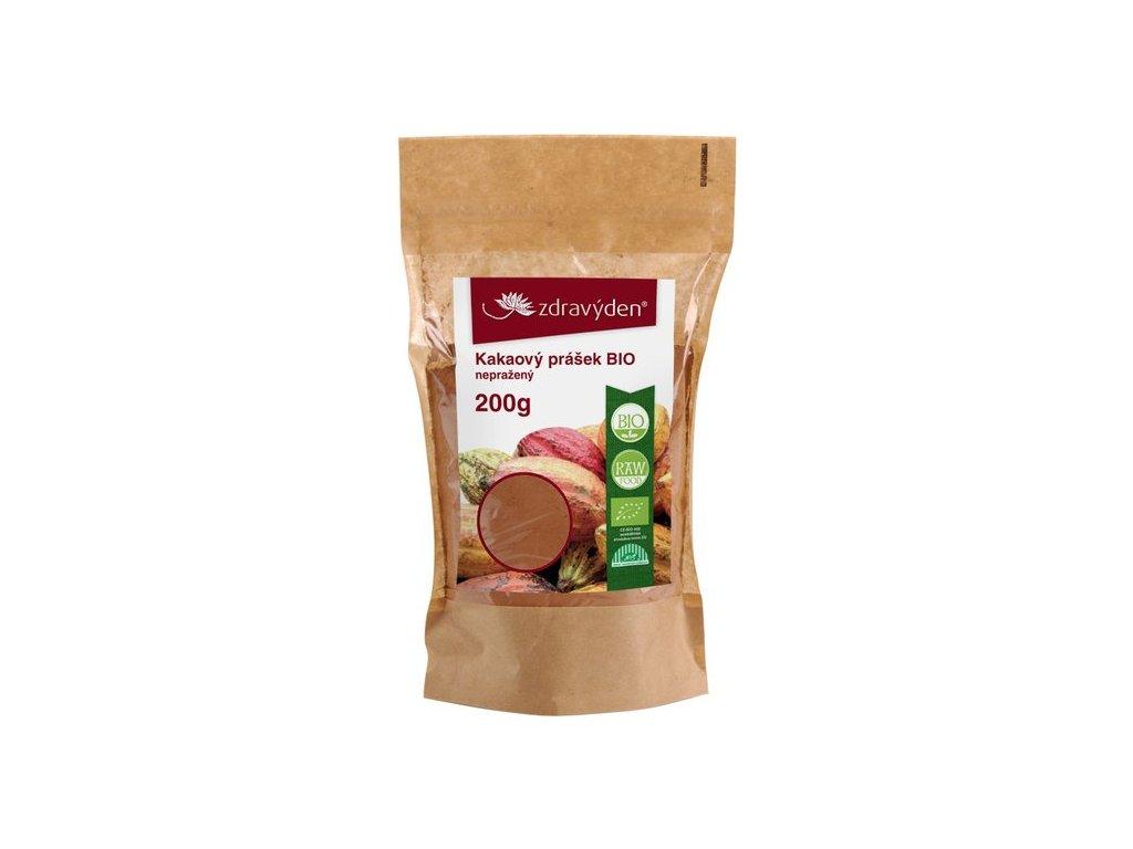 Zdravý den Kakaový prášek BIO nepražený