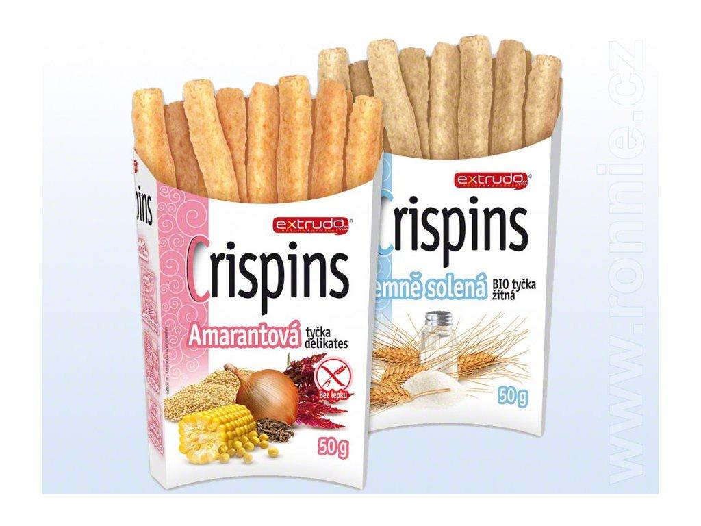 KNUSPI BIO Crispins, tyčinky 50g
