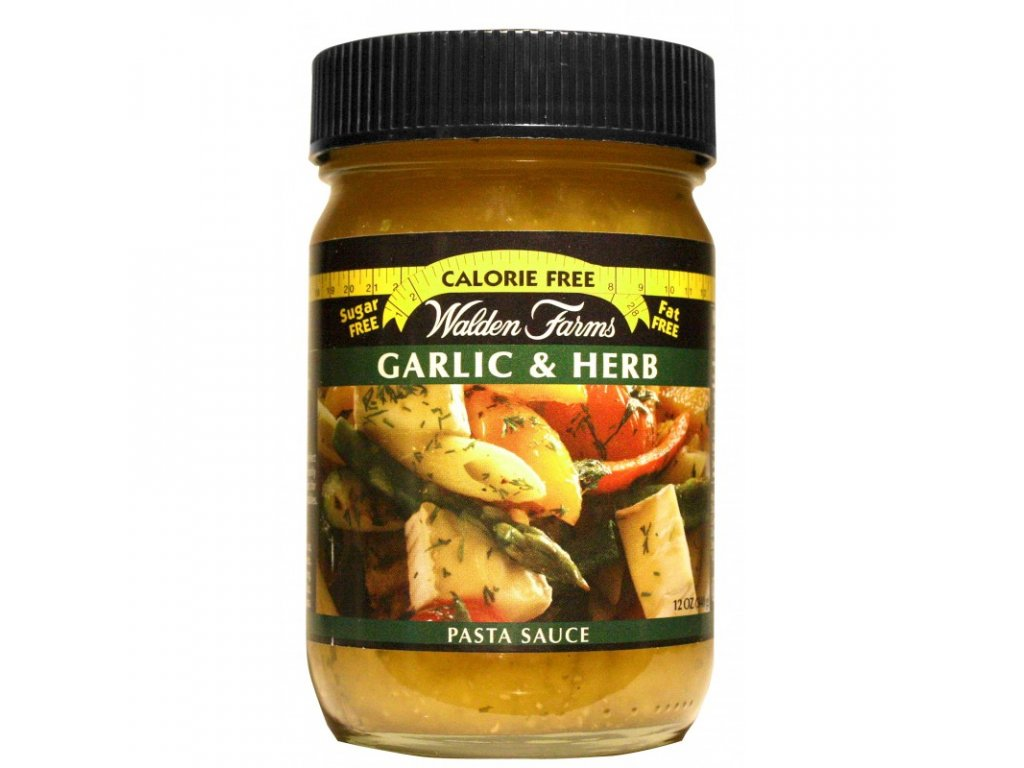 Walden Farms Garlic and Herb Sauce 340 g, Min. trvanlivost do 26.10.2019