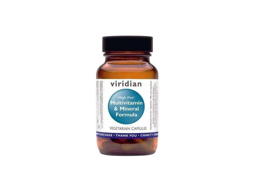 Viridian Nutrition High Five Multivitamin & Mineral Formula 60kapslí