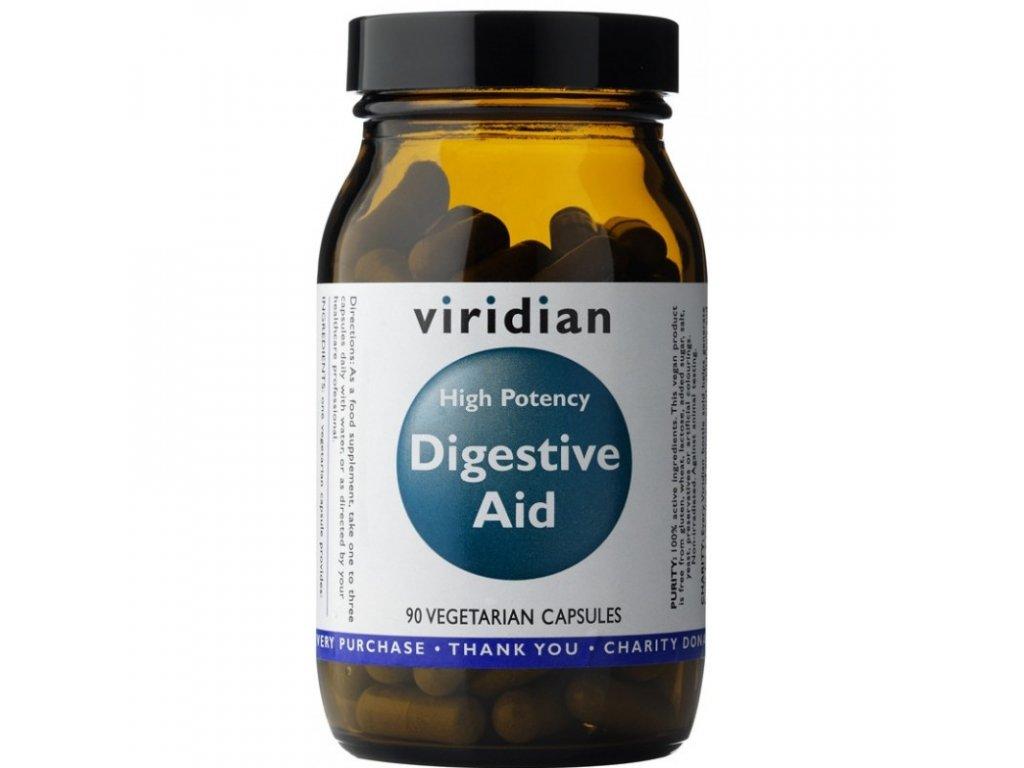 Viridian Nutrition High Potency Digestive Aid 90 kapslí