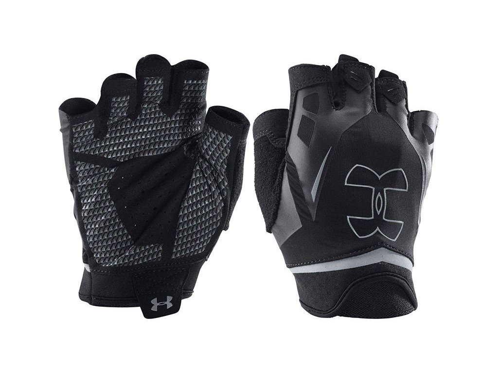 UNDER ARMOUR PÁNSKÉ RUKAVICE FLUX HALF-FINGER TRAINING GLOVES ... 103bb8afc1