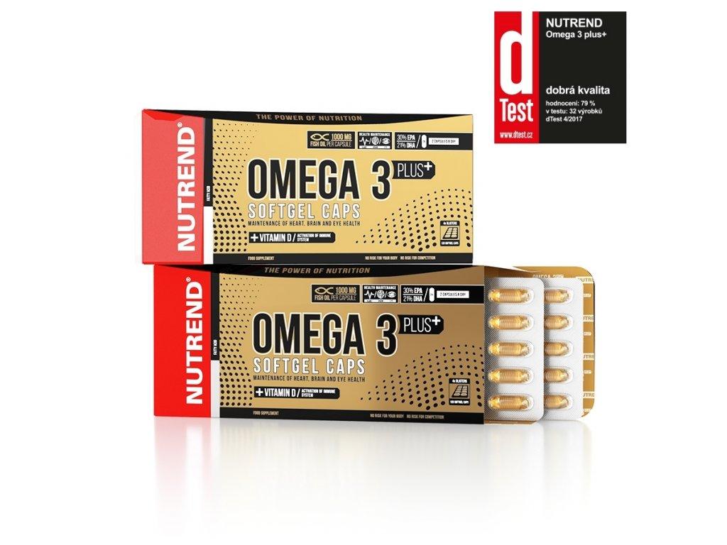 nutrend omega3 plus dtestt