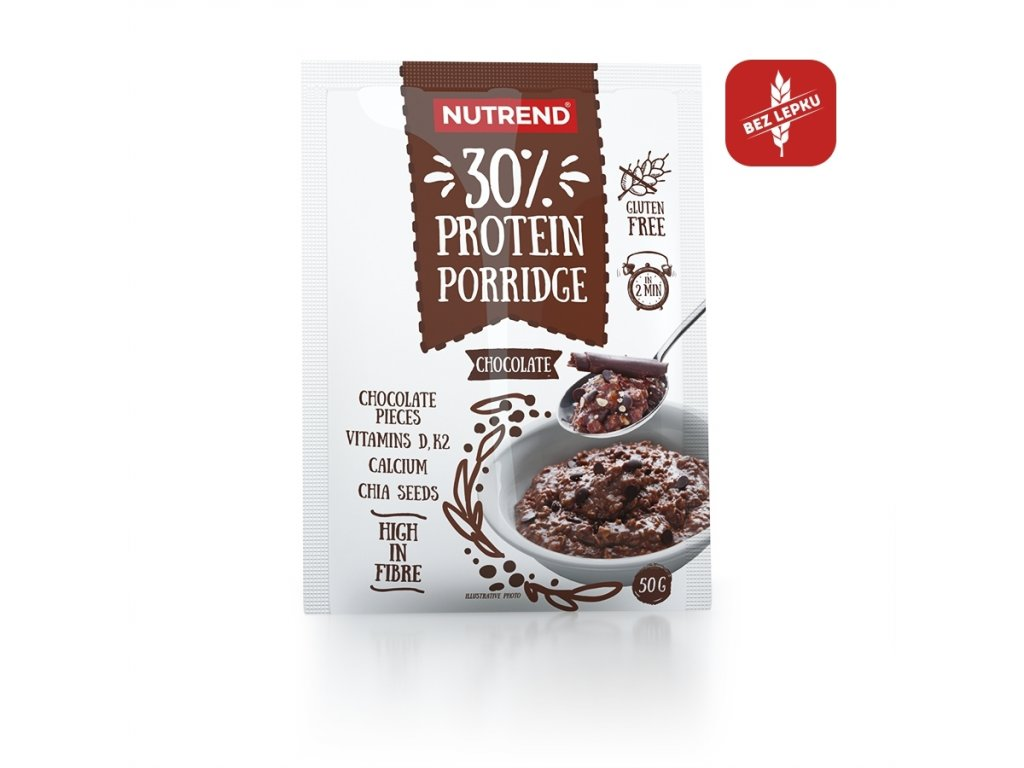 protein porridge chocolate 50g cz