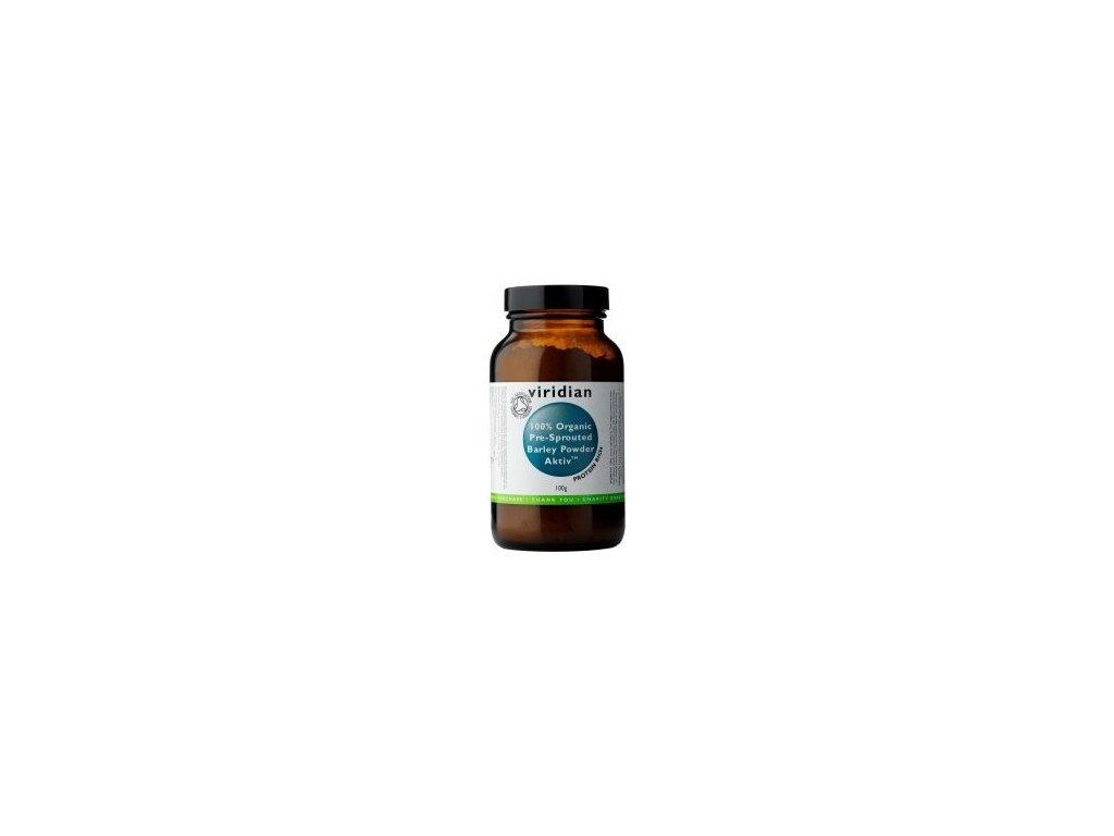 Viridian Nutrition 100% Organic Activated Barley Powder 100g