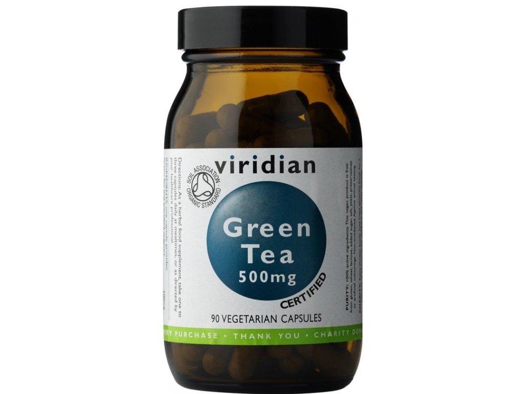 Viridian Nutrition 100% Organic Green Tea 90kapslí