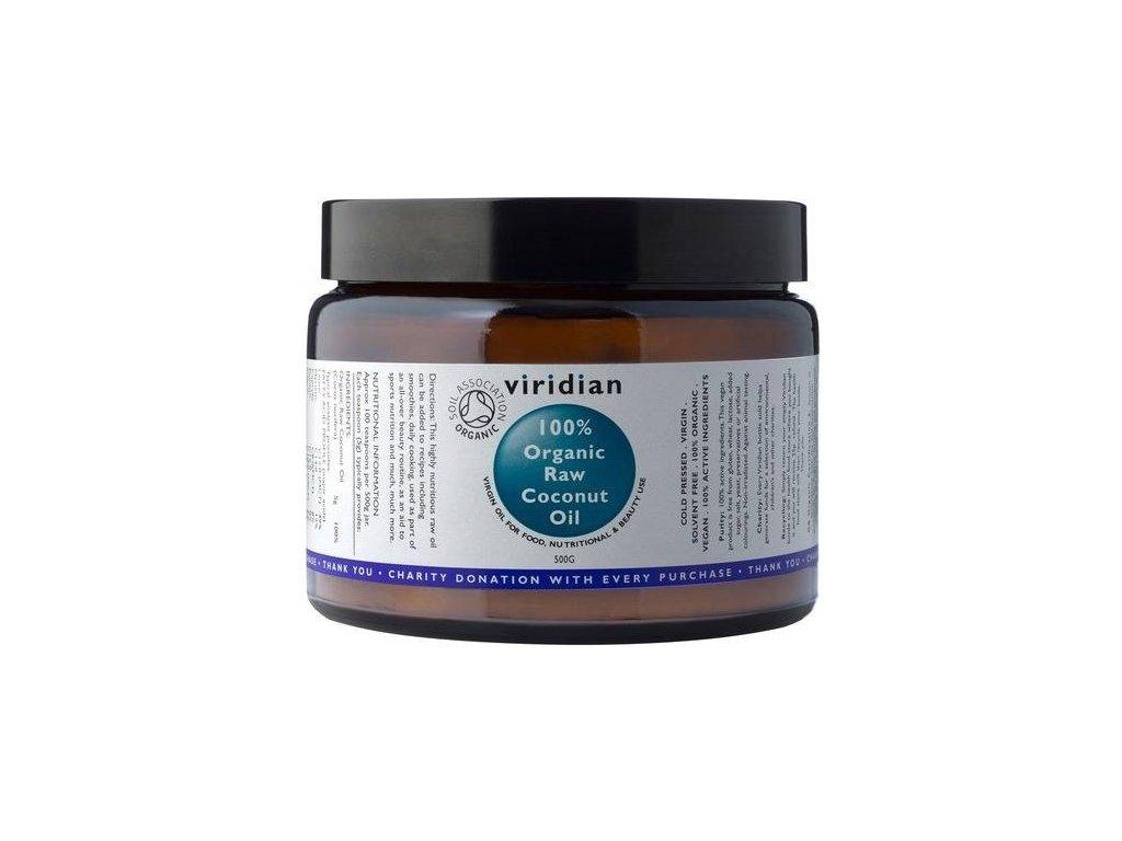 Viridian Nutrition 100% Organický kokosový olej