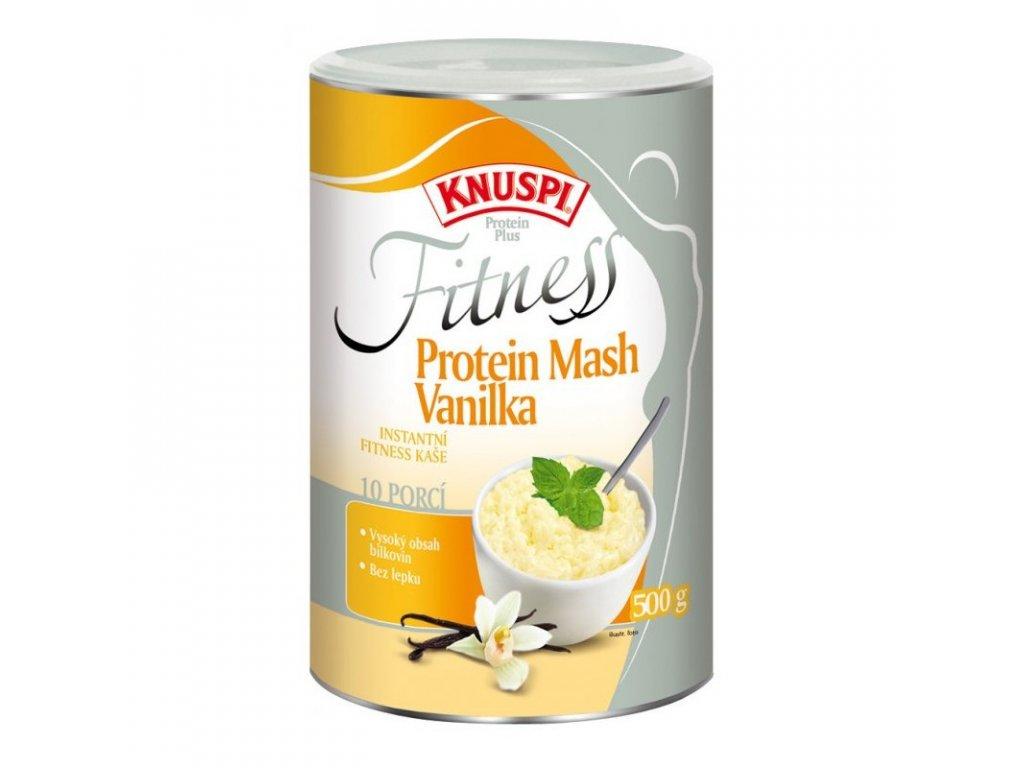 Knuspi Fitness Protein Mash Vanilka 500 g, Min. trvanlivost do 06.12.2019
