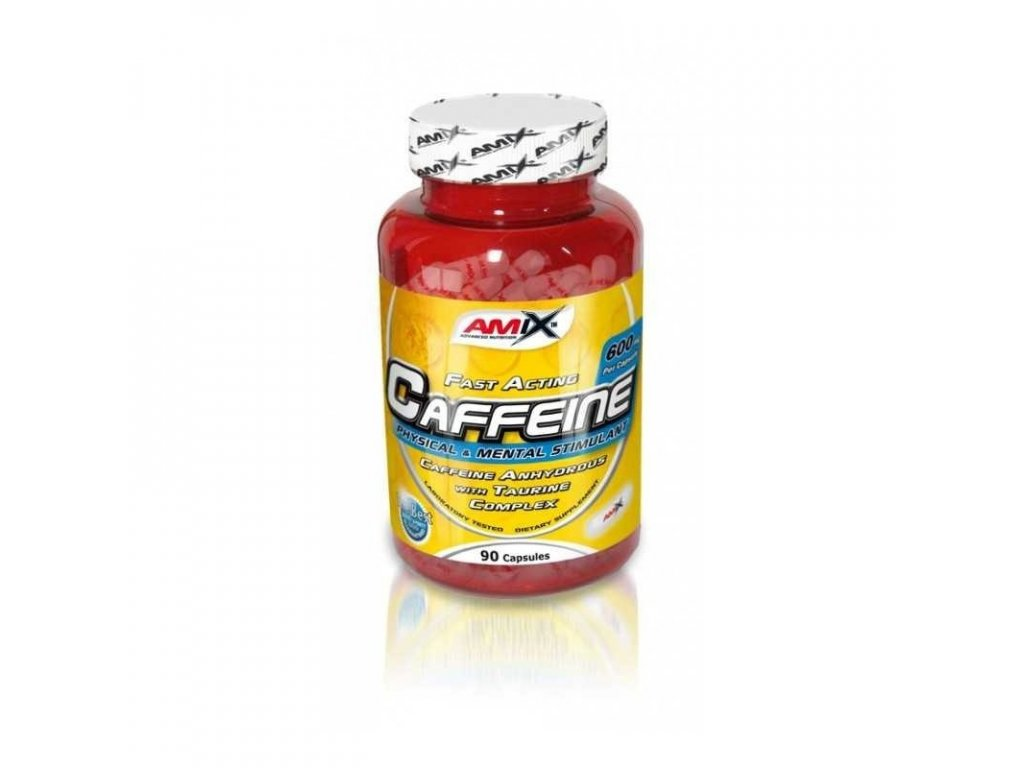Amix Caffeine with Taurine 90cps