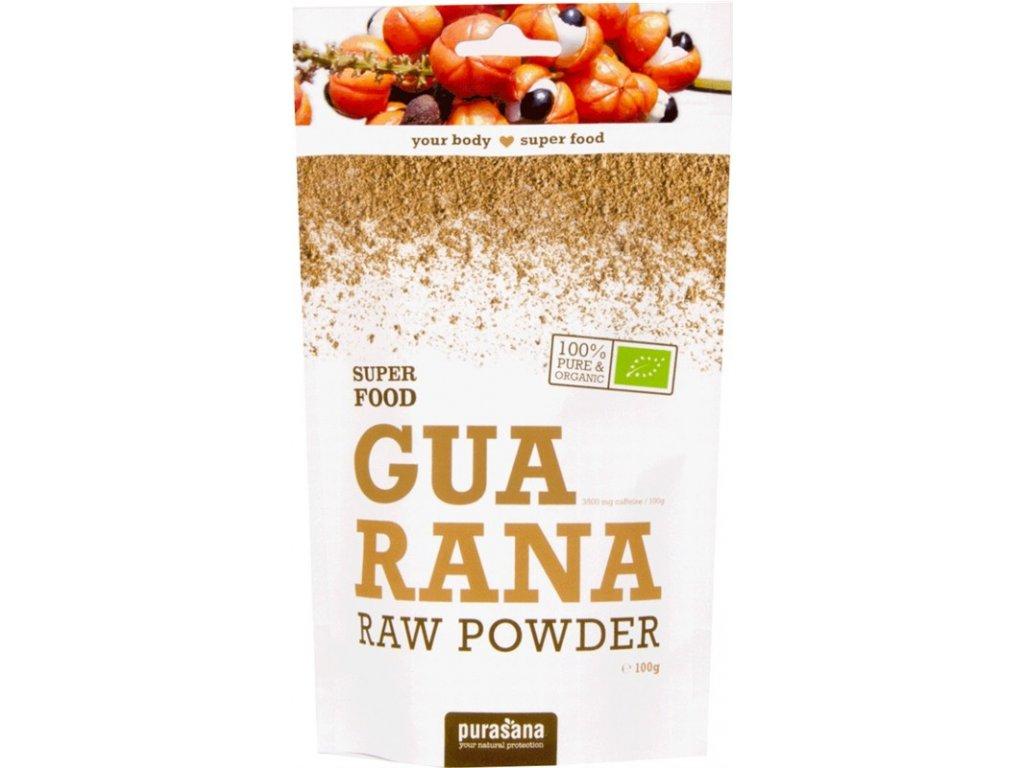 Purasana Guarana Powder BIO 100g