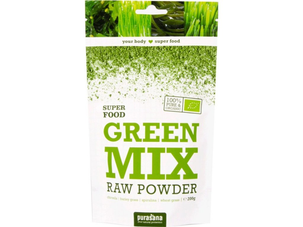 Purasana Green Mix Powder BIO 200g