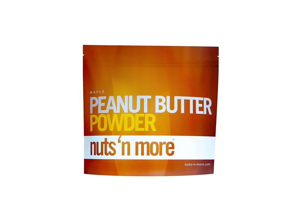Nuts 'N More Arašídové máslo v prášku javorový sirup 284g, Min. trvanlivost do 30.09.2019