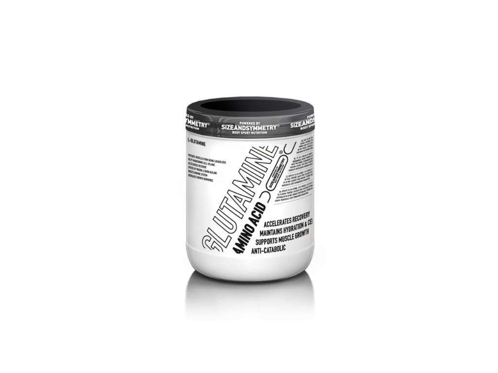 SizeAndSymmetry Nutrition L-glutamine, Min. trvanlivost do 30.11.2019