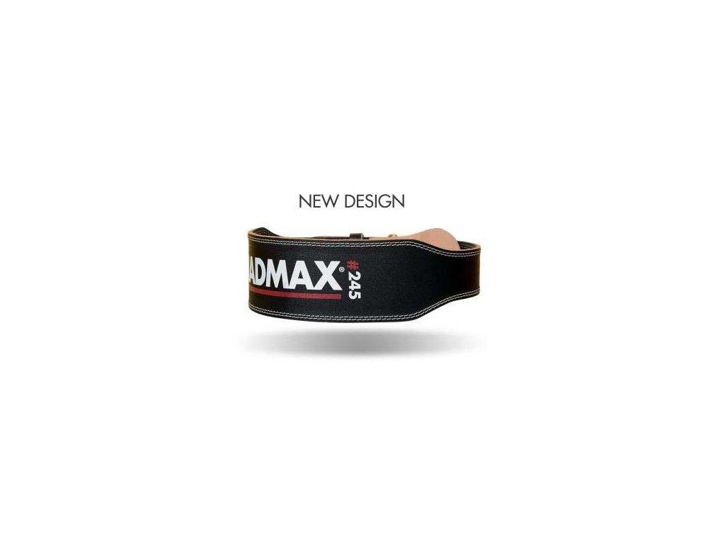 MadMax Full Leather Black