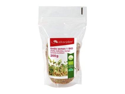 smes semen na kliceni 1 bio alfalfa redkvicka mungo