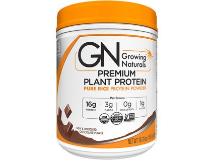 GROWING NATURALS Rice Protein Isolate Powder Chocolate Power