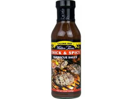 Walden Farms Barbecue Sauce - Thick & Spicy 355 ml