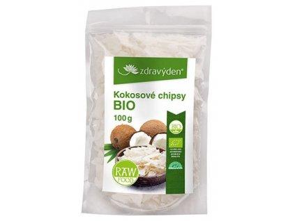 Zdravý den Kokosové chipsy BIO