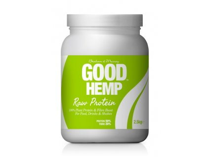 Good Hemp Protein Natural RAW 2,5kg