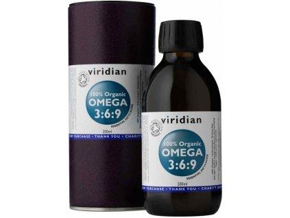 Viridian Nutrition 100% Organic Omega 3:6:9 Oil 200ml