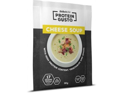 biotech usa protein gusto cheese soup