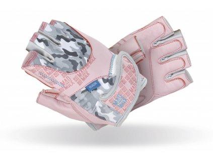 MadMax Fitness rukavice NO MATTER Pink