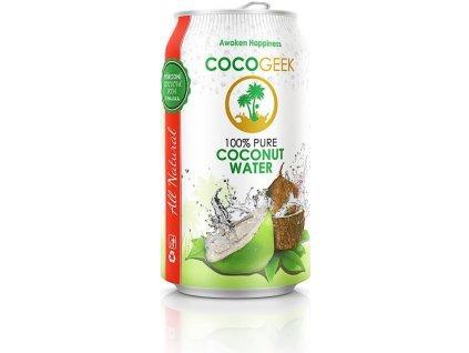 Cocogeek Kokosová voda, Min. trvanlivost do 16.08.2019