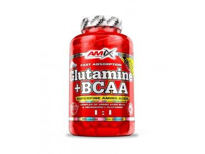 Amix™ Glutamine + BCAA kapsle