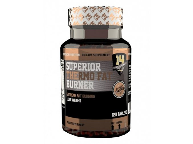 Superior 14 Thermo Fat Burner 120 kapslí