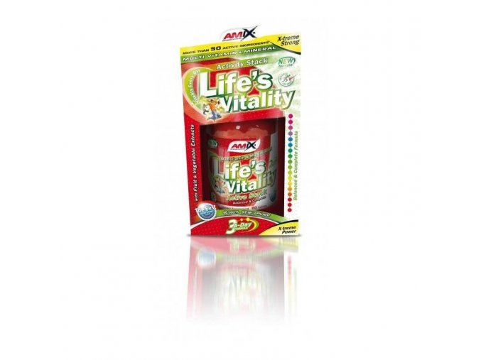 Amix Life's Vitality Active Stack 60tbl BOX