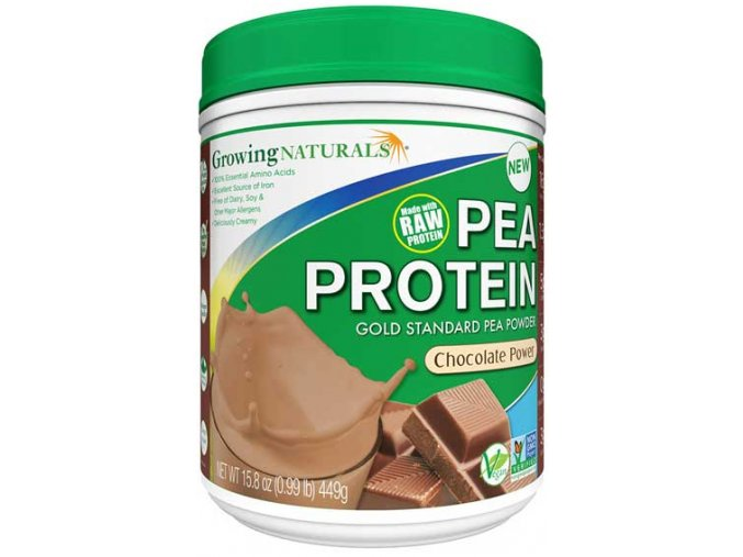 GROWING NATURALS Pea Protein Chocolate Power